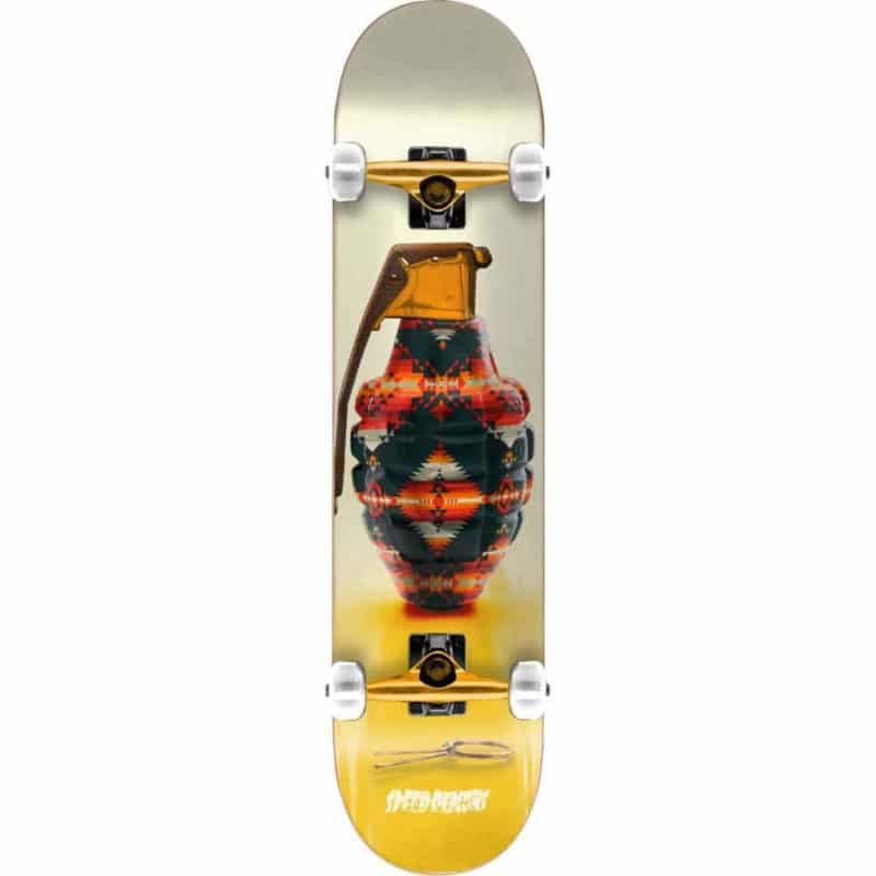 Skateboard Complet Speed Demons Snazzy Factory Navajo en taille 7,75""