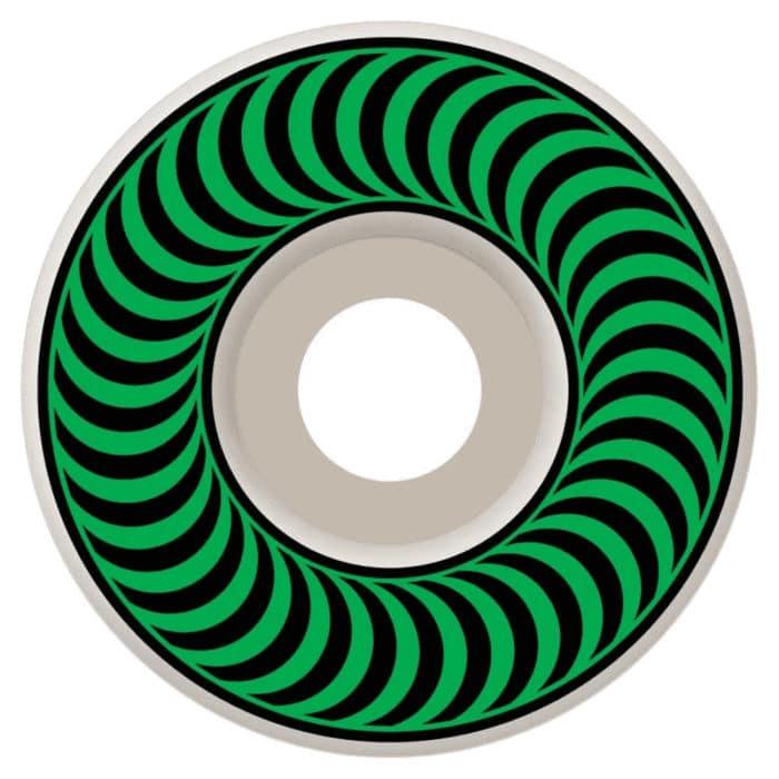 Roues de Skateboard Spitfire Wheels formula 4 Classic 52mm et dureté 99a