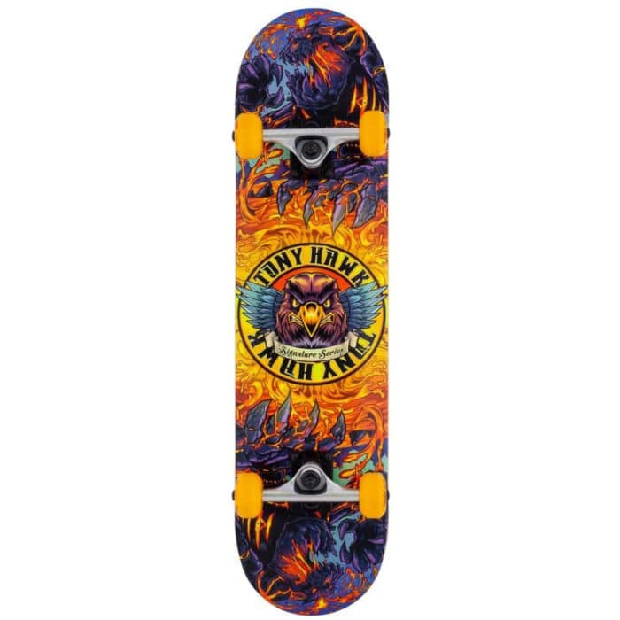 Skateboard complet Tony Hawk SS 360 Series couleur lave