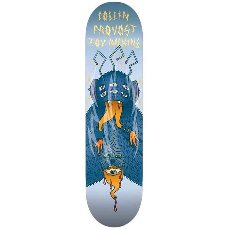Planche de skate Toy Machine Collin Provost Cannibal Sect en taille 8.3″