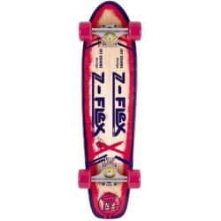 "Skateboard Cruiser Z-Flex Jay Adams Violet - Magenta/Purple en taille 7.5"""