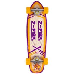 Skateboard Cruiser Z-Flex Jimmy Plumer P.O.P Serie couleur Orange/Purple en taille 7.7″