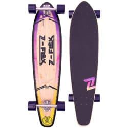 "Longboard Cruiser Z-Flex P.O.P 39"" (1 mètre) couleur Violet Fade"