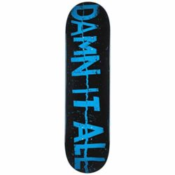 Planche de skate ZerZero Damn it All zine deck 8.5""