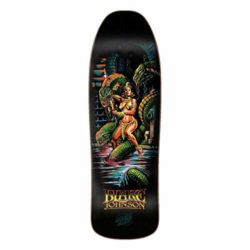 Santa Cruz Johnson Warrior Preissue deck 9.35""