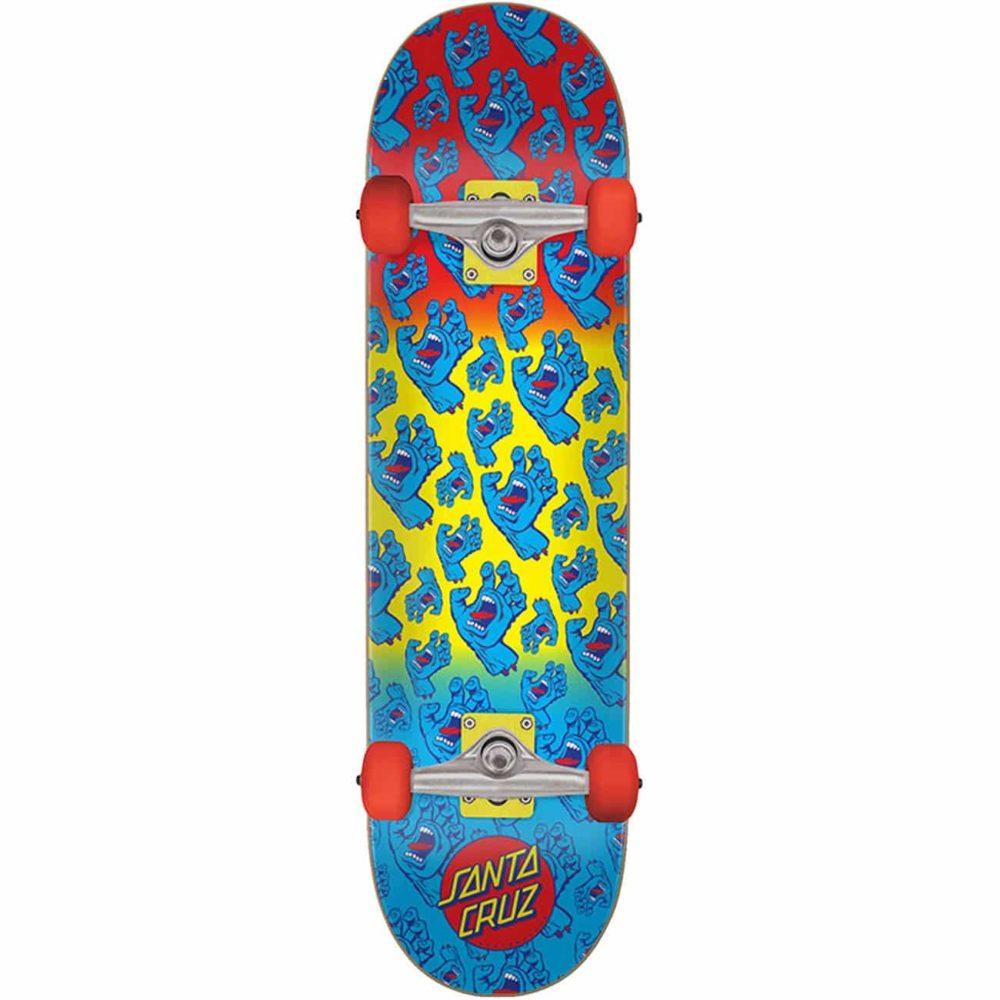 "Skate complet Santa Cruz Hands Allover 7.8"""