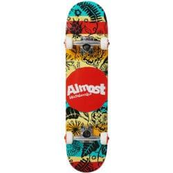 """Skateboard complet Almost Primal Print en taille deck enfant 7.0"""""""