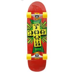 "Skateboard Old School / Pool deck complet Dogtown en taille 8,875"" x 32.25"", trucks Venture x Thrasher Collabo et roues 66mm"