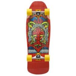 Skateboard complet Pool & Cruising Dogtown Scott Oster Reissue rouge en taille deck Old School 10,125″, trucks Venture x Thrasher 5.25 et roues 66mm