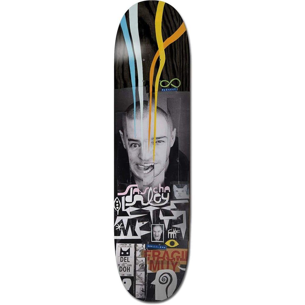 "Planche de skate Element Freditano Sascha en taille deck 8.5"" , pro-model Sascha Daley"