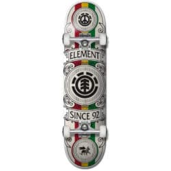 Skate complet noir Element Regal Rasta 8.0″