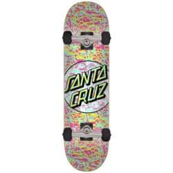 """Skateboard complet Santa Cruz Foam Dot 1 Factory en taille 7.5"""" et roues 52mm"""