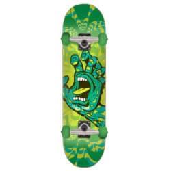 "Skateboard Complet Santa Cruz Kaleidohand en taille deck 8.25"" et roues 52mm"