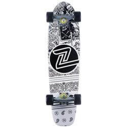 """Skateboard Cruiser Z Flex LBC White en 7,5"""""""