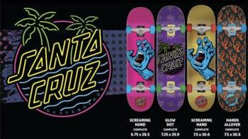 santa cruz skateboards complets collection 2020
