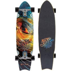Longboard Sector 9 Sidewinder Series Nectar Unagi Orange