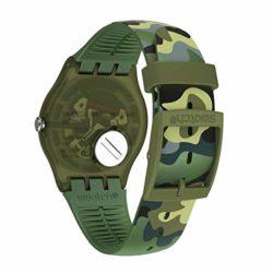 Bracelet Montre Swatch Camouforest