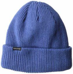 Bonnet Volcom Polar Line pour femme Bleu