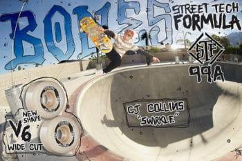 CJ Collins bones Wheels Street tech formula ads