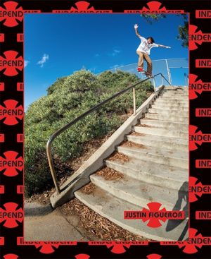 Justin Figgy 5-0 indy ads