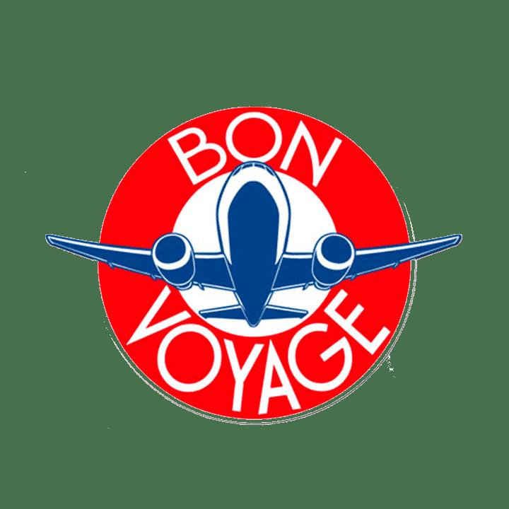 logo cliché Bon voyage