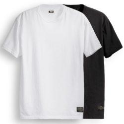 Pack de 2 T-shirts Levi's Skateboarding Noir & Blanc