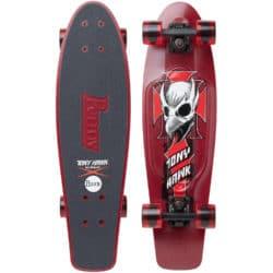 "Skate Cruiser Penny Tony Hawk Crest rouge 27"""