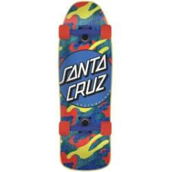Skateboard Cruiser enfant complet SANTA CRUZ Primary Dot 80's mini