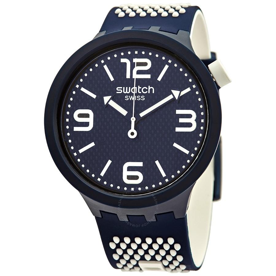 Montre Swatch Big Bold SO27N101 Analogique Quartz avec Bracelet en Silicone