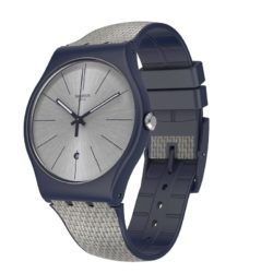 Montre Swatch Grey Cord Originals (SUON402), pour Homme