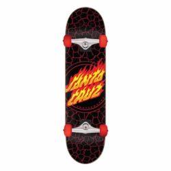 Skateboard Santa Cruz Flame Dot Full Factory 8.0″
