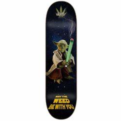 Jart Weed Nation Yoda deck 8.375″