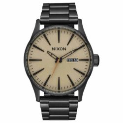 Montre Nixon Sentry A356-1439-00 Noir Kaki Marron