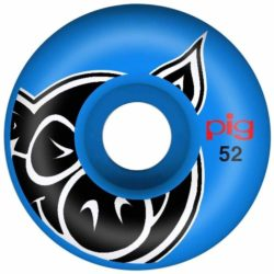 Roues Pig Head Blue Made Pro Line 52 mm