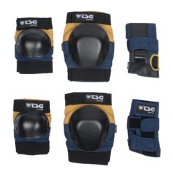 SET COMPLET protections skateboard TSG BasiC