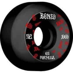 Roues Bones 100's v5 52mm.
