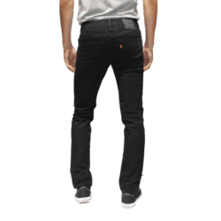 Jean Levi's 511 Slim Fit Noir back
