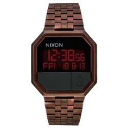Montre Nixon Re-Run marron