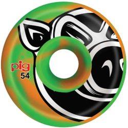 Roues Pig Head Swirls 54 mm
