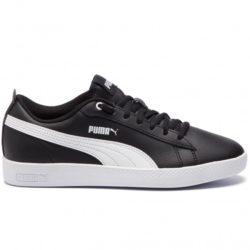 Chaussures Femme Puma Smash Wns V2 L Noir / Blanc