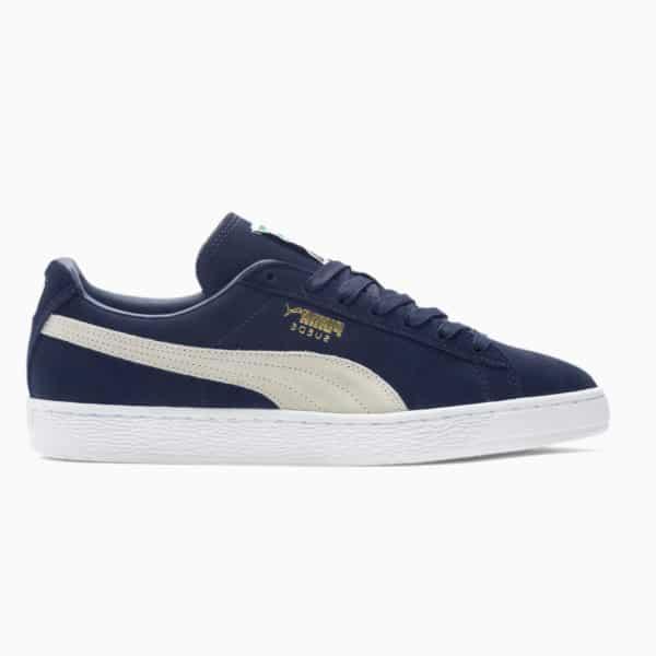 Chaussures Puma Suede Classic Bleu Femme / enfant