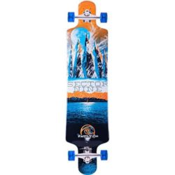 Longboard complet Sector 9 Faultline Orange
