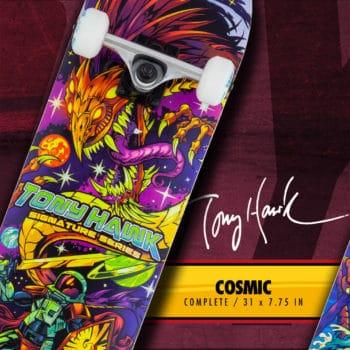 Tony Hawk Skateboard Cosmic ads