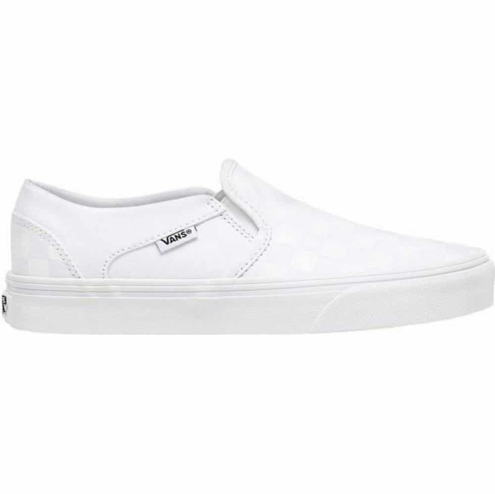Vans Asher Slip-on Checkerboard blanche