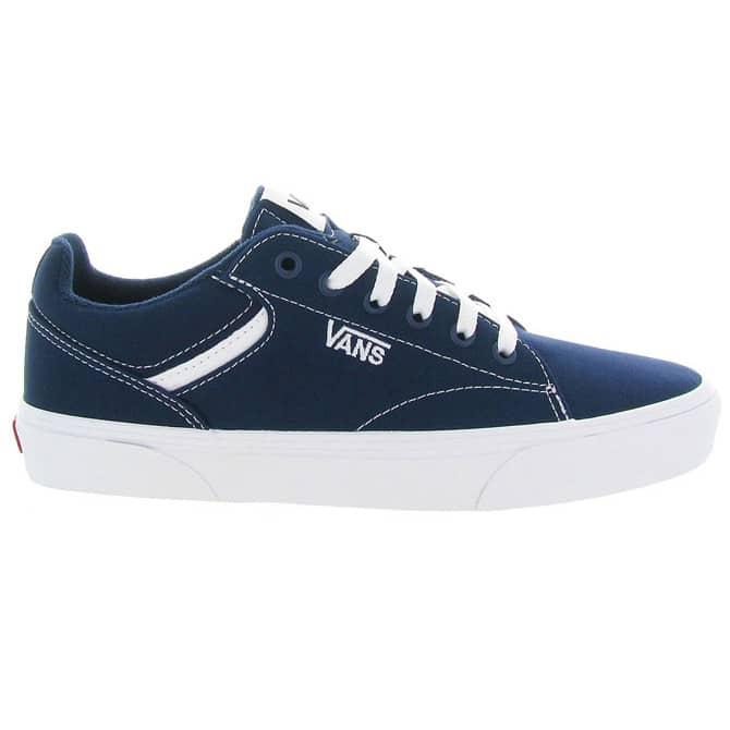 Vans Seldan | Chaussures Homme et Femme Bleu | Skate.fr