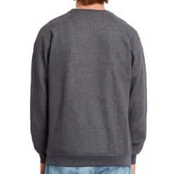 Sweat-shirt Volcom Timesoft Crew Noir back