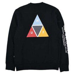 Sweatshirt HUF Prism Crew noir back