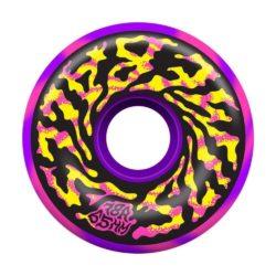 Roues de skate cruiser SANTA CRUZ Slime Balls Slime Balls Swirly Swirl 65mm