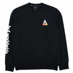 Sweatshirt HUF Prism Crew noir