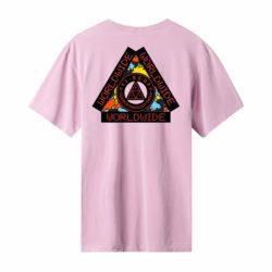 T-shirt HUF Color Tech Triple Triangle violet